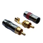 RC03 Connettore RCA Gold